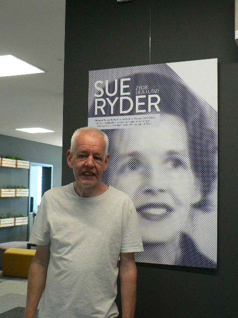 Sue Ryder's son Jeromy at the museum